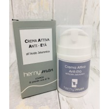 CREMA ATTIVA anti-età all'Acido Jaluronico